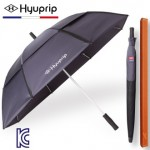 협립 65 네이비 이중방풍 자동 골프우산