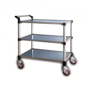 스테인레스 3단 카트 JW Stainless Cart