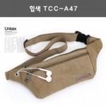 힙색 TCC-A47/크로스백.캔버스가방