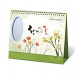 향기그리고꽃(타원거울) 탁상캘린더