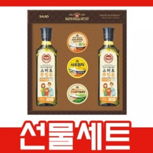 사은품-사조선물세트(5종),식용유세트 햄선물세트 명절선물세트