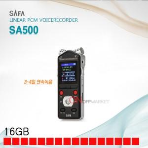 사파 SA500 보이스레코더 장시간 휴대용 녹음기 16G 초소형