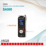 사파 SA500 보이스레코더 장시간 휴대용 녹음기 16G 초소형 장시간녹음가능(3일 이상)  초소형녹음기 미니녹음기 가벼운녹음기  강의녹음 연설녹음 메모녹음 자료녹음기 사파녹음기
