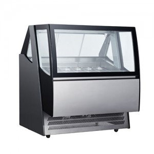 알앤에프/젤라또쇼케이스(간냉식) ARD-600L / 길이1240×폭1065×높이1410