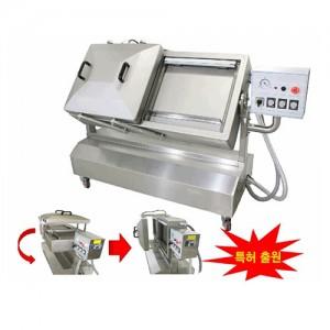 수직형 복식 각도조절형 진공포장기 (소스류, 장류, 가루류 등) CV-520V / 씰링길이 500X10mm