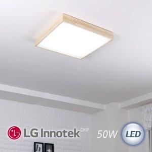 LED 모던 정사각 방등 50W