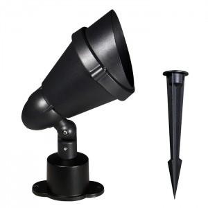 PAR38 투사등 직부형+팩형 겸용 (블랙)