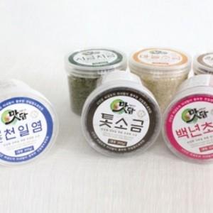 맛담천일염300g+맛담색소금300g(2p세트)