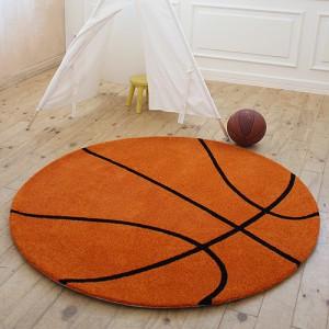PD013 농구공 자녀방 러그/카페트 원형150cm