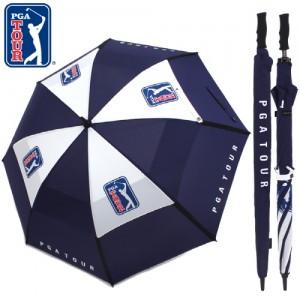 PGA 80 비바람에도 든든한 이중방풍 골프장우산 고급 기념선물