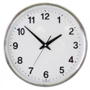 TS-360 알루미늄(무소음) 시계