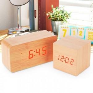 [전자시계] LED 우드탁상시계/디지털시계/우드시계
