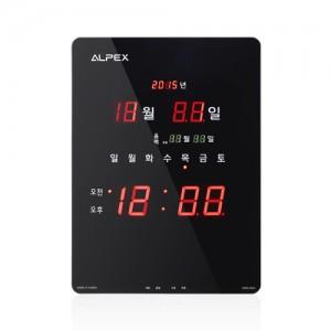 알펙스디지털벽시계 AWD5505(B)
