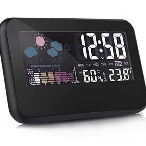 와이드 LED 날씨탁상시계