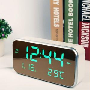 초대형 LED 미러시계 거울시계 탁상시계
