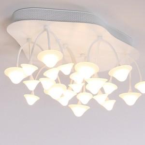 LED 버섯 방등 50W [전구색=노란불]