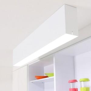 LED 로고 주방등 50W [3000K/6500K][2color/3size]