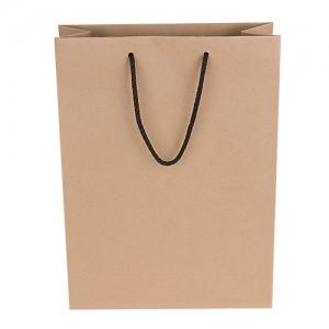 크라프트지 쇼핑백 3가지로고 상호 인쇄가능 깔끔한 심플한 친환경적인 인기있는 인기 쇼핑백 저렴한 선물포장용 기프트 판촉 홍보