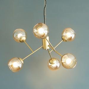 [바이빔] LED 볼라 6등 펜던트(램프포함)