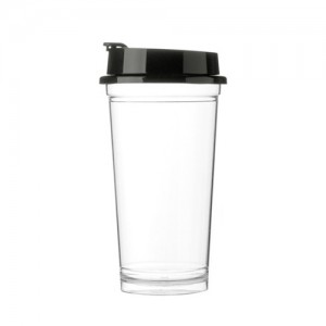 리유저블 텀블러 루핀컵 (재질-트라이탄, 플립캡)투명한 아이스 워터텀블러 청량감 안전한 젖병소재 가벼운 초경량