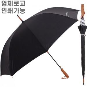 무표 70자동 스틸실버 장우산