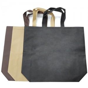 부직포 쇼핑백 검정,밤색,갈색