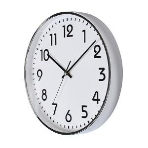 크롬입체숫자벽시계300