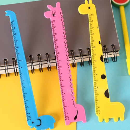 동물모양 자아기자기 귀여운 사랑스러운 코끼리 알파카 기린 플라스틱 학용품 학교 학원 유치원 입학선물 학생선물