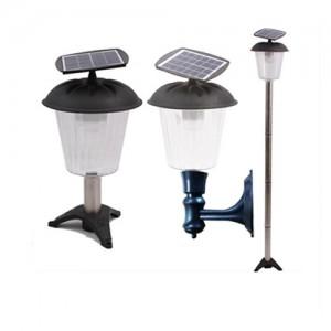 12LED 백열등 75와트 태양광 [벽등/문주등/가로등]편리한 벙슈 방진 LED조명 태양광조명 정원용품