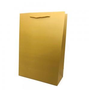 [종이가방] 아트지 무지 쇼핑백 브라운 (롱특대)종이백 종이쇼핑백 심플 종이봉투 선물쇼핑백