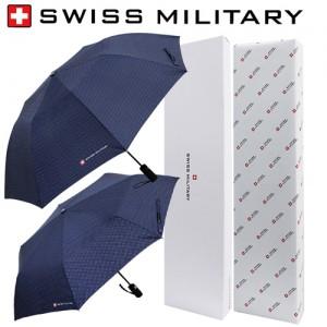스위스밀리터리 2단자동+3단7K 완자 핀도트 우산세트