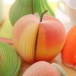 과일모양 메모지