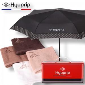 협립 3단 커넥션보다 수동 우산+카페타월 1P 세트