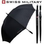 스위스밀리터리 70자동 엠보선염바이어스 장우산