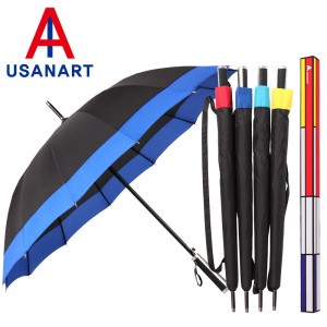 우산아트 60 14K 보다멜빵 우산 (레드.블루,옐로우,스카이)