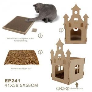 어스포즈 캣 스크래쳐 하우스 EP241 고양이스크레쳐