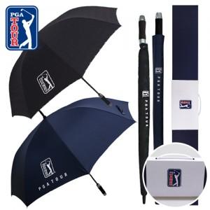 PGA 70자동 엠보선염+75자동 무지 우산세트