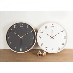 딜라이트 우드 무소음 벽걸이 시계