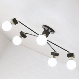 [LED] 미숑5등 직부등 (라운드형-2color)