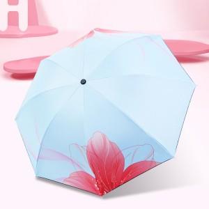 꽃그림자 3단 양우산