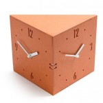 Twin Clock (Oragne)