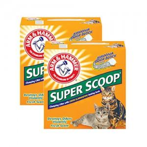 슈퍼스쿠프 클럼핑 리터 센티드 고양이모래 (후레쉬향) 9.07kg x 2ea가격:60,000원