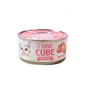 뉴웨이브캔 C참치닭고기 큐브 80g 고양이간식가격:1,500원