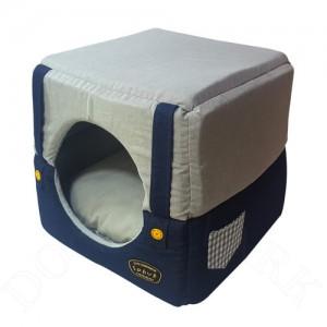 쏘아베 강아지 고양이 멜빵 큐브방석 (그레이)가격:48,000원