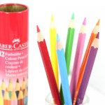 (파버카스텔)틴라운드 일반색연필 12색