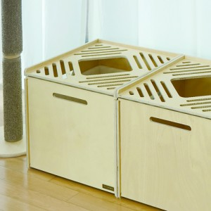 고양이 큐브 원목화장실가격:128,000원
