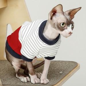 스트라이프 레드 고양이 티셔츠가격:32,000원