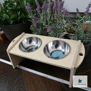 10도 경사 원목식탁 이니셜각인 강아지 고양이 밥그릇 - 1구/2구/3구가격:27,000원
