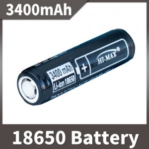 18650 리튬이온 충전지 3400mAh 배터리