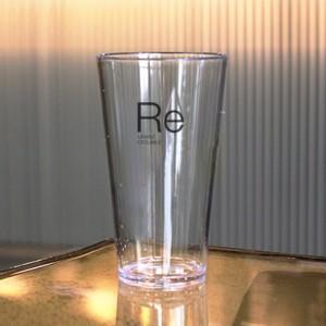 [티스카페] RE: 투명 플라스틱 파티컵(그란데)플라스틱 물컵 쥬스 주스 아이스커피 SAN 매장용 카페 사무실 집 다회용
